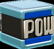 Blue POW Block Artwork - Super Mario 3D World