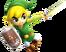 Toon Link (Super Smash Bros