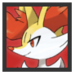 JSSB Character icon - Braixen