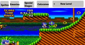 Sonic Developer Gameplay