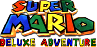 Super Mario Deluxe Adventure logo