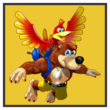 JSSB character preview icon - Banjo & Kazooie