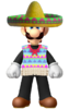 Luigis poncho and sombrero by computerboy64-dc7jwgw