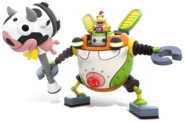Mecha Jr. - Mario Rabbids Kingdom Battle