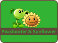 Peashooter & Sunflower SP