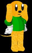 3D Johnny Dog