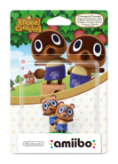 Amiibo - Animal Crossing - Timmy & Tommy - Box