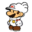 Paper Cloud Mario