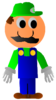 Cartoon Luigi