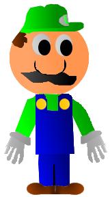 Cartoon Luigi