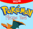 Pokemon Flame Red and Aqua Blue