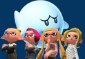 Ngyes, Quinton, Woomy, Kaleigh, and the ghost