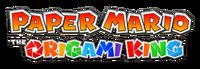 Paper Mario Origami King logo