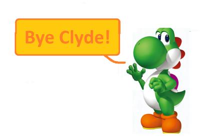 Bye clyde