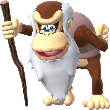 Image - Cranky Kong SSB4.png | Fantendo - Nintendo Fanon ...