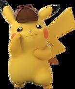 Detective Pikachu sad
