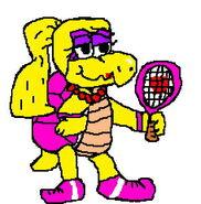 Koopa Girl Tennis