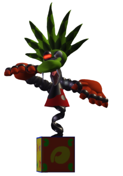 Mad Jack in 3D Model
