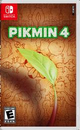 Pikmin 4 (YeeMeYee) - Nintendo Switch Cover