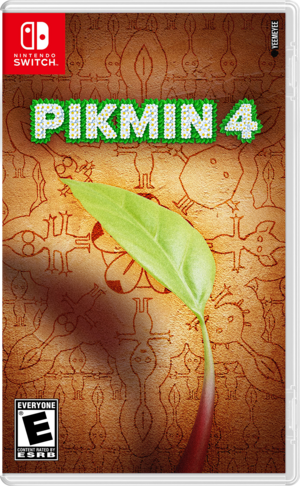 Pikmin 4 (YeeMeYee) - Nintendo Switch Cover