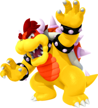 Red Bowser 3D