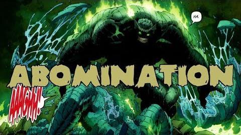 THE ABOMINATION Supervillain Breakdown