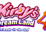 Kirby's Dream Land 4: Friends to the End