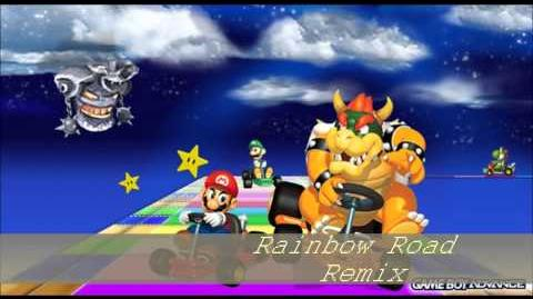 Mario Kart Super Circuit Rainbow Road(Remix)~My Game Music Remix 37