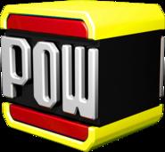 Red POW Block - Dry Bones Kart Wii