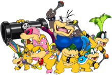 The koopalings art v 2 by tails19950-d5kojyl
