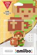 Amiibo - Zelda - Link The Legend of Zelda - Box