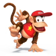 Diddy Kong for SSB4