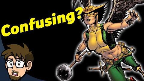 Hawkgirl's CRAZY History - Comic Drake