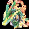 Mega Rayquaza - Pokken Tournament DX
