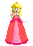 Princess peach beautiful dress by 9029561-d6sqjbo