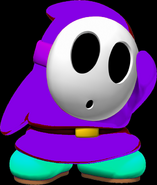 Purple Shy guy