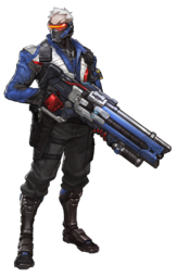 Soldier 76 render by nautox1x-da4qxyf
