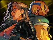 Axel and Blaze