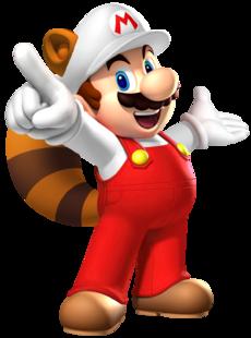Fire Raccoon Mario