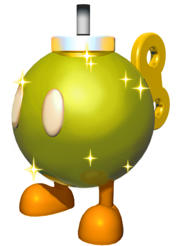 File:Golden Bob-Omb SMW3D.png