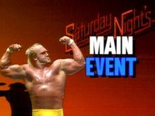 Saturday Nights Main Event Logo