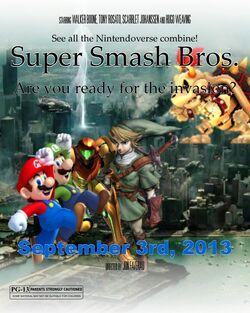 Smash Bros. Poster