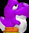 Purple Baby Yoshi 3D