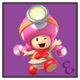 JSSB character preview icon - Toadette