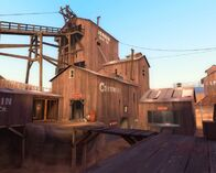 TF2 Dustbowl Map