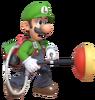 3.Luigi preparing a plunger