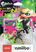 Amiibo - Splatoon - InkBoy2 - Box