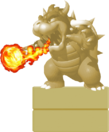 Bowser StatueSMWWii