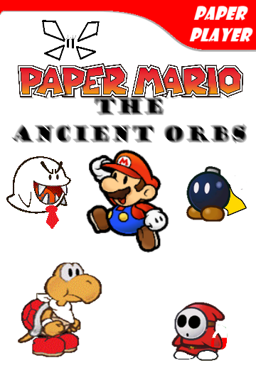 Paper Mario The Ancient Orbs Boxart