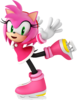 Amy Rose Mario & Sonic Olympic Games